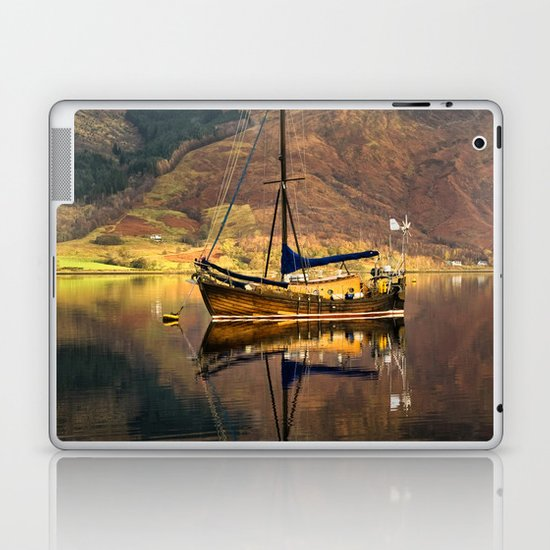 Sailboat Reflections Laptop & iPad Skin