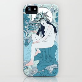 Lucid Interval iPhone Case
