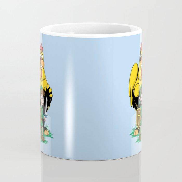 The Legend of Ernie (light background) Coffee Mug