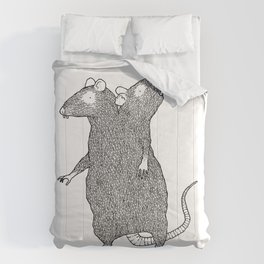Two Headed Rat, I Love You Comforters