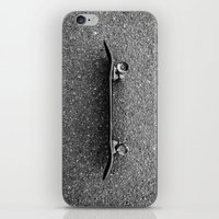 skateboard iPhone & iPod Skins featuring Skateboard by short stories gallery