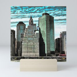Wall Street Mini Art Print