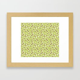 Many Kiwis Framed Art Print