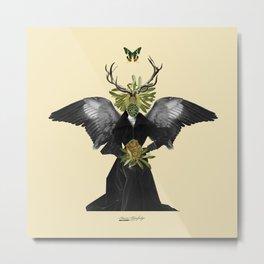 complicated creature - stillness Metal Print