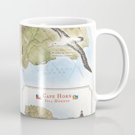 Cape Horn - Exploration AD 1616 Coffee Mug