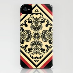 Victorian Goth Print iPhone (4, 4s) Slim Case