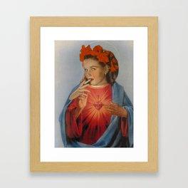 Mad Magdaline Framed Art Print