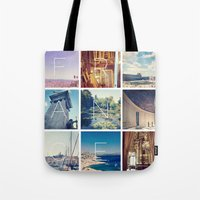 france Tote Bags featuring FRANCE by SarahS