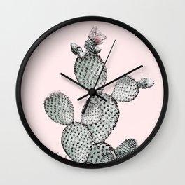 Desert Blush Wall Clock