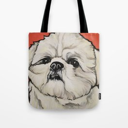 Waffles the Shih Tzu Tote Bag