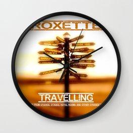ROXETTE TRAVELLING WORLD TOUR DATES 2019 LANDAK Wall Clock