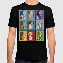 She Series Collage - Version 1 T-shirt