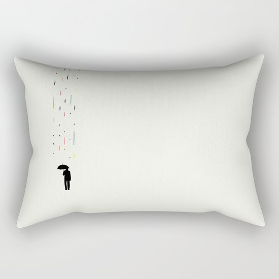 Mr Rain Rectangular Pillow