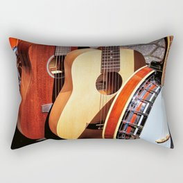 Strings Attached Rectangular Pillow