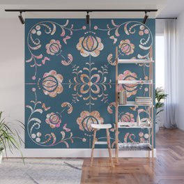 Fall's flowers Wall Mural