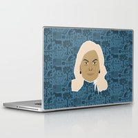 leslie knope Laptop & iPad Skins featuring Leslie Knope - Parks and recreation by Kuki