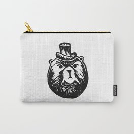 Grumpy Bear with a Top Hat Carry-All Pouch