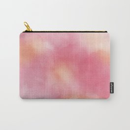 Painted Surface Pastel Watercolor Carry-All Pouch
