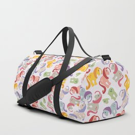 ponies invasion Duffle Bag