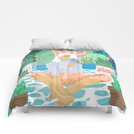 Early Lovebird Comforters