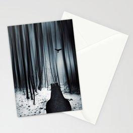 dark promise - raven Stationery Cards