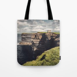 Irish Sea Cliffs Tote Bag