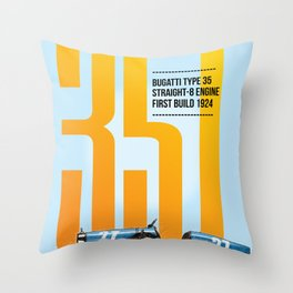 35T Tribute Throw Pillow