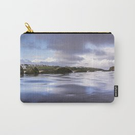 High Tide at Porth Beach Carry-All Pouch