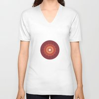 kaleidoscope V-neck T-shirts featuring kaleidoscope by UiNi