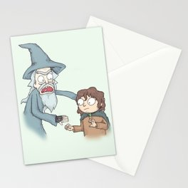 Schwift Of The Rings Stationery Cards