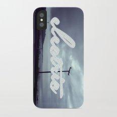 electric iPhone X Slim Case