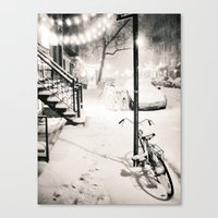 new york city Canvas Prints featuring New York City by Vivienne Gucwa