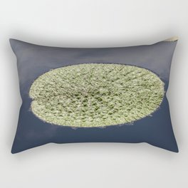 Crinkle Lily Pad Rectangular Pillow