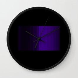 Midnight Purple Wall Clock
