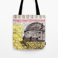 oklahoma Tote Bags featuring Oklahoma by Ursula Rodgers