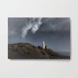 Mumbles lighthouse Metal Print