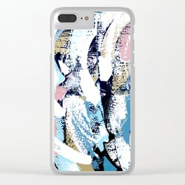Abstract Clara Clear iPhone Case