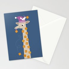 Note Giraffe Stationery Cards