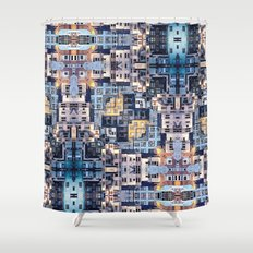 Community of Cubicles Shower Curtain