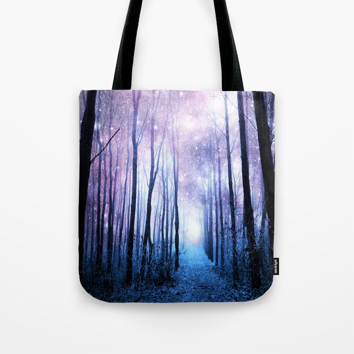 Fantasy Forest Path Tote Bag
