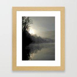 Dawn Reflections Framed Art Print