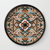 native Wall Clocks featuring Native by nate duval