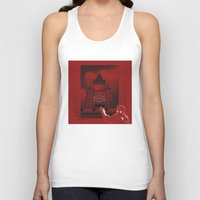moscow Tank Tops featuring Moscow by Nerve