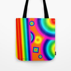 Psychedelich  Tote Bag
