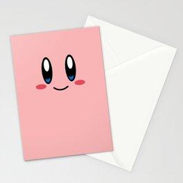Kirby- Nintendo - Minimalist - pink - cute Stationery Cards