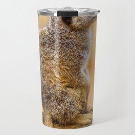 Meerkat (Color) Travel Mug