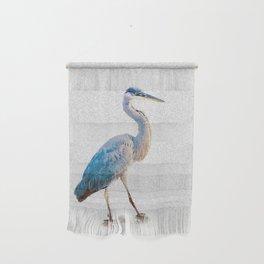 Blue Heron Silhouette Wall Hanging