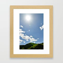 Alive and Well Framed Art Print