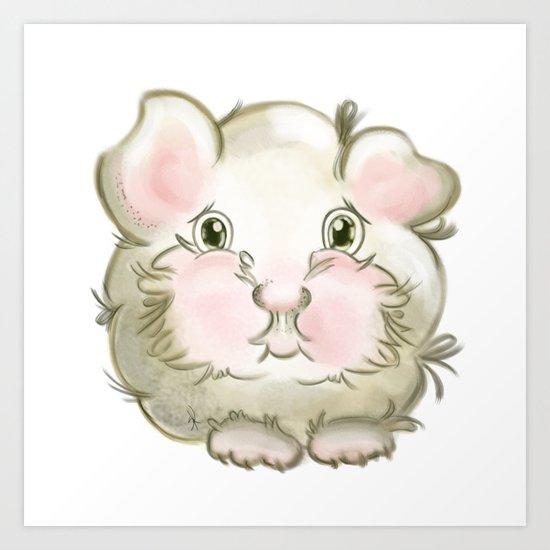 Guinea pig Art Print