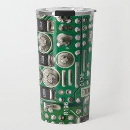Circuit Board Macro Travel Mug